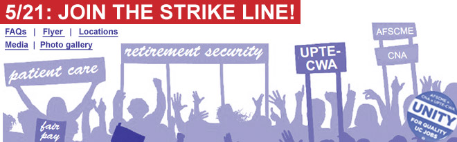5/21: Join the strike line!