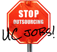 stop outsourcing UC jobs